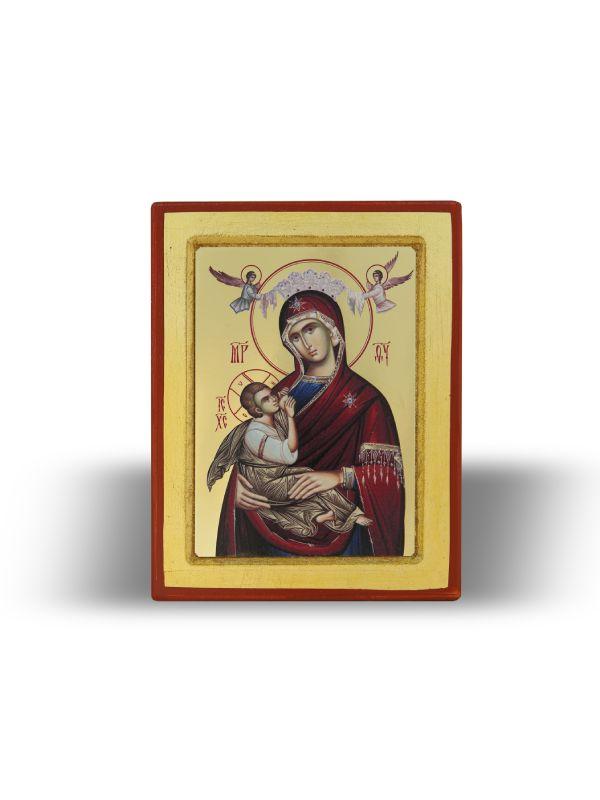 Пресвета Богородица Страсна/Страдална са Господом Исусом Христом (15×11)