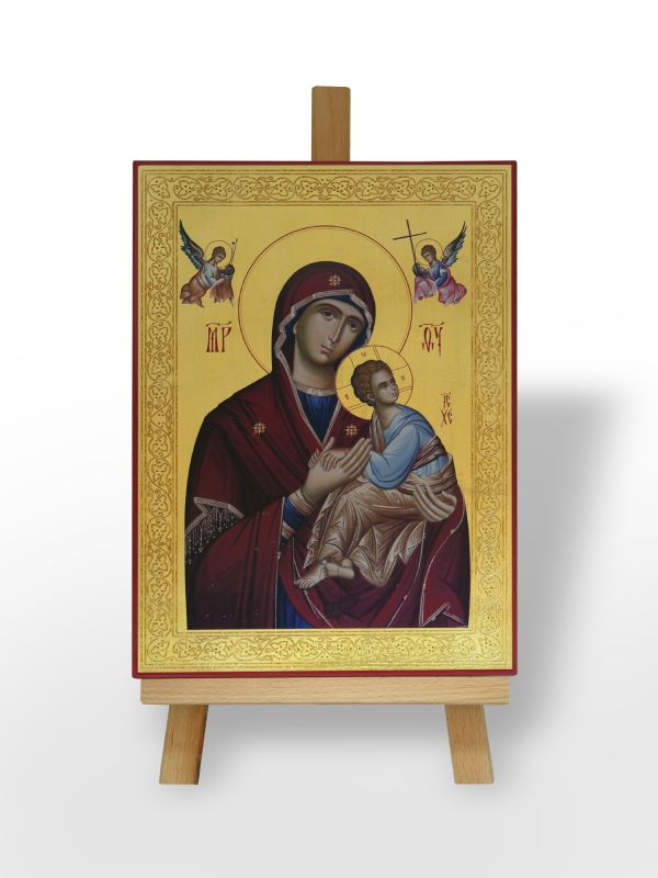 Presveta Bogorodica Strasna/Stradalnasa Gospodom Isusom Hristom (36x26)
