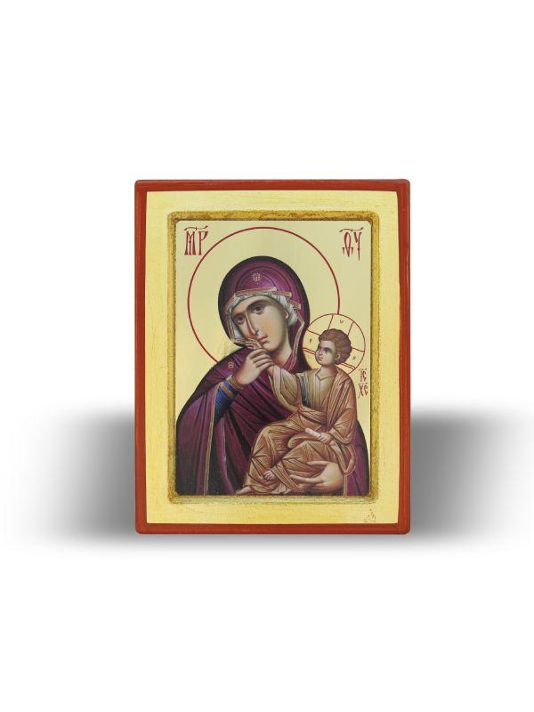 Presveta Bogorodica Utešiteljka sa Gospodom Isusom Hristom (15×11)