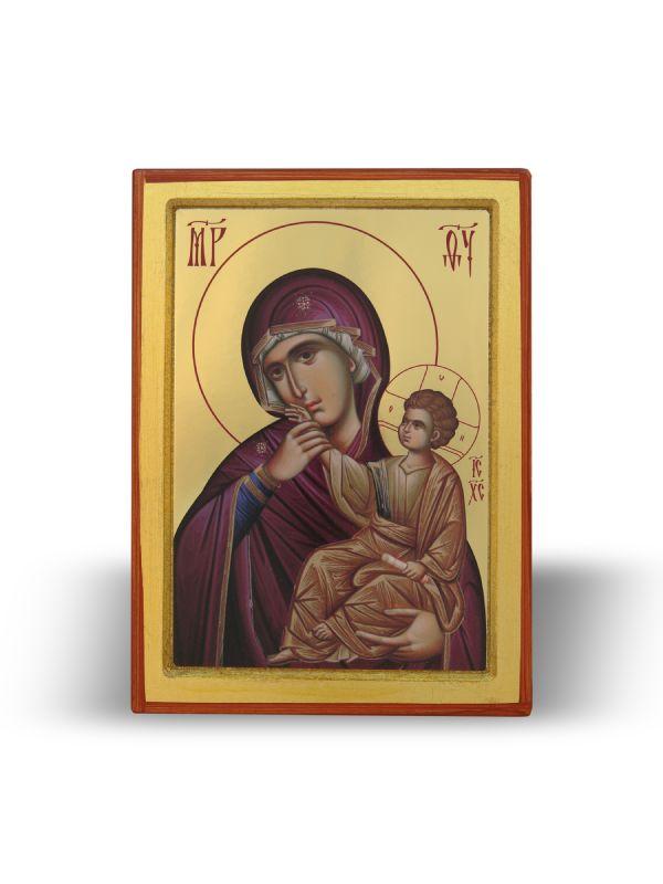 Presveta Bogorodica Utešiteljka sa Gospodom Isusom Hristom (21×16)