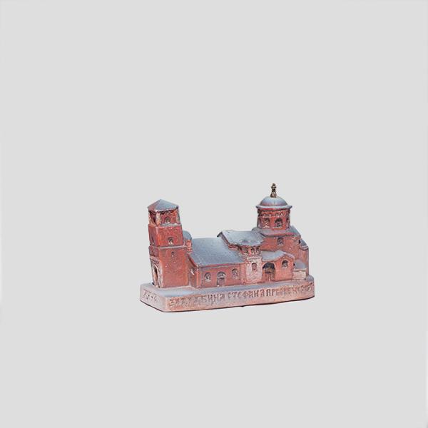 Mala maketa manastira Žiče