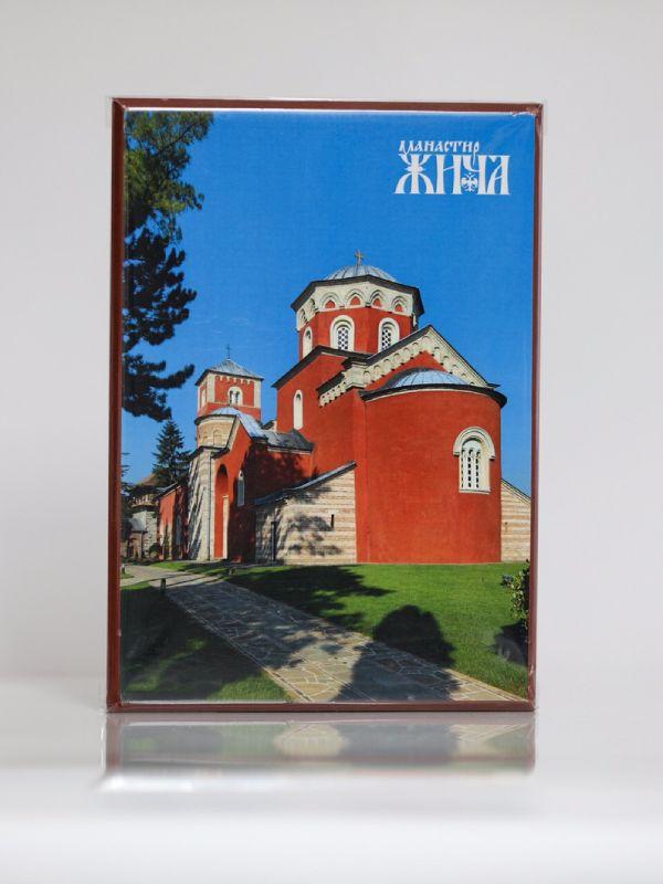 Manastir Žiča, Kaširana ikona, A4