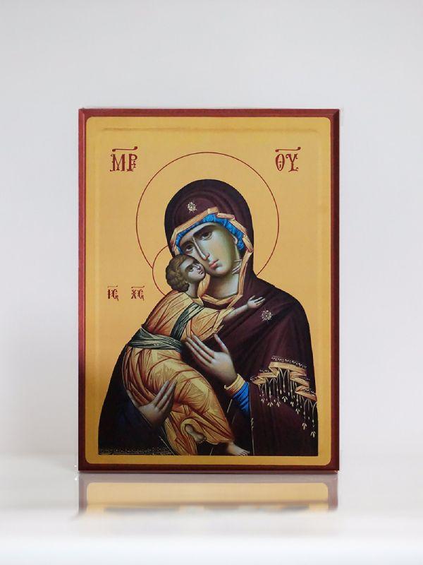 Presveta Bogorodica, Kaširana ikona, A4