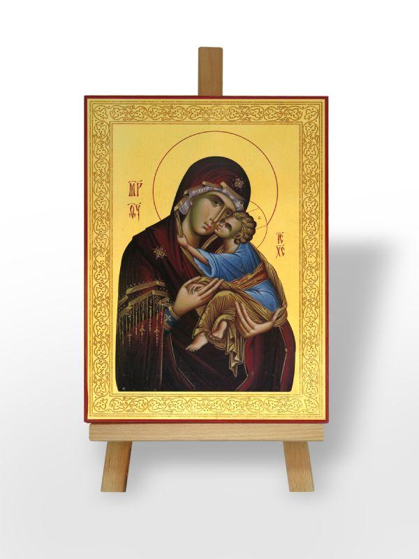 Presveta Bogorodica Dečanska sa Gospodom Isusom Hristom (36x26)