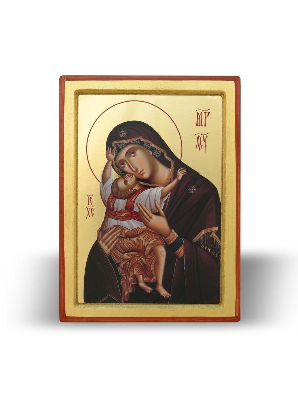 Presveta Bogorodica Kardiotisa sa Gospodom Isusom Hristom (21×16)