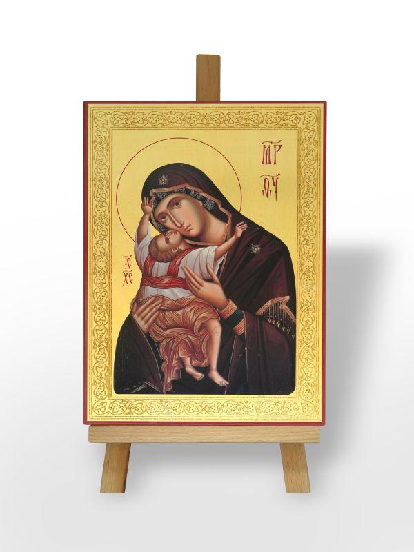 Пресвета Богородица Кардиотиса са Господом Исусом Христом (36х26)