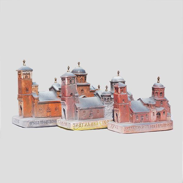 Srednja maketa manastira Žiče