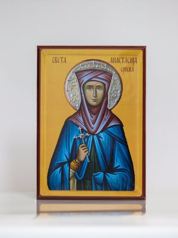 Света Анастасија Српска, Каширана икона, А4