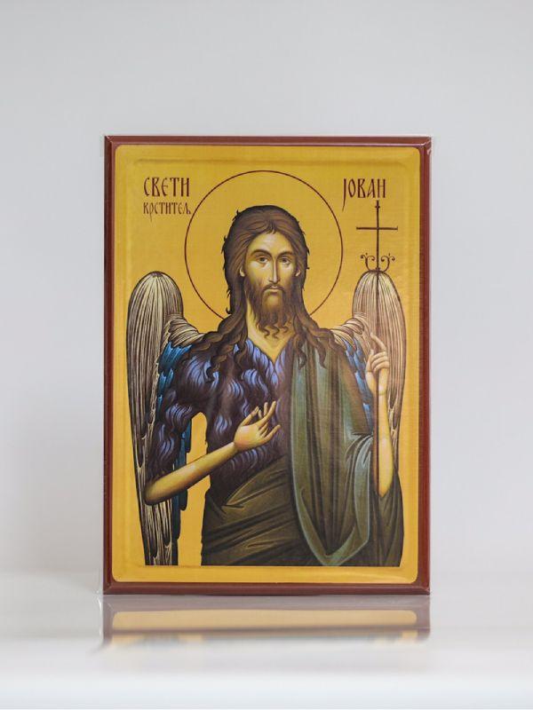 Sveti Jovan Krstitelj, Kaširana ikona, A4