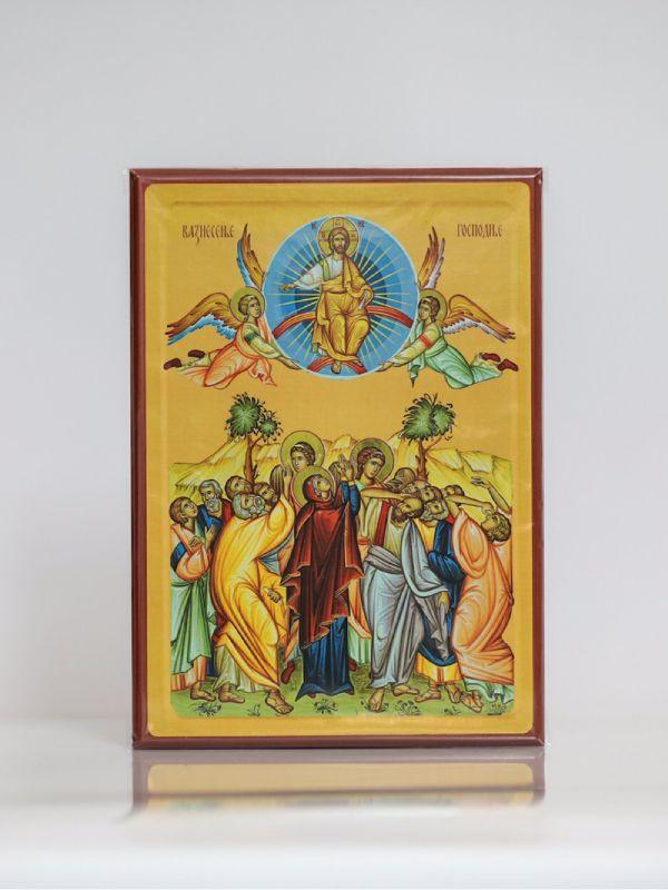 Vaznesenje Gospodnje, Kaširana ikona, A4